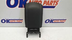 15 2015 Ford Escape Center Floor Console Arm Rest Lid Only Black Leather