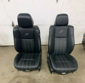 Chrysler 300s Oem Black Leather Seats 2011 2018 Front Rear