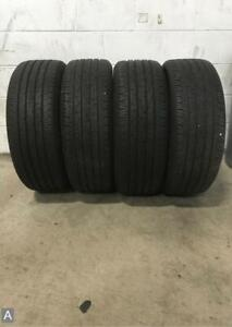 4x P235 45r19 Continental Contiprocontact 8 9 32 Used Tires