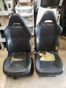 02 06 Acura Rsx Oem Leather Front Seats Left And Right