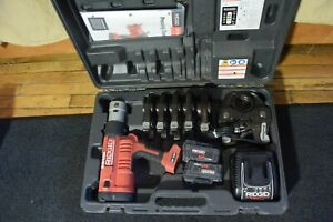 Ridgid Propress Model Rp340 Crimper With 6 Jaws Rp 340 2