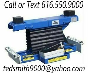 New Best Value Professional 6 000 Lbs Heavy Duty Low Mount Rolling Air Jack