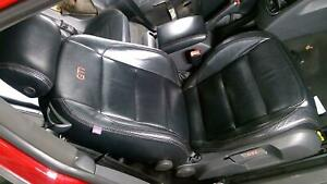 06 09 Vw Gti Mk5 Passenger Right Front Seat black Leather