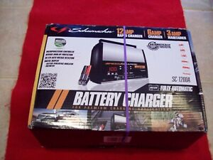 New Schumacher Speed Charge Automatic Battery Charger Sc 1200a For 12v Electric