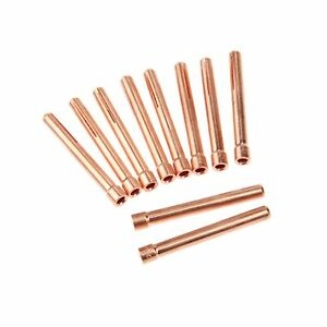 10pcs 3 32 10n24 2 4mm Tig Collet Tips For Wp17 18 26 Tig Welding Torch Series