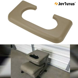 Beige Center Console Cup Holder Pad Replacement For Ford F250 350 1999 2010