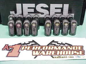 16 Jesel 937 Keyway Centered Solid Roller Lifters Nascar Chevy Ford Dodge J1
