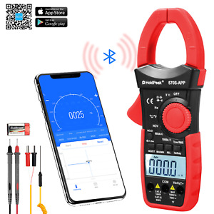 Holdpeak Digital Clamp Meter 6000 Count Multimeter With Auto Range ac dc Voltage