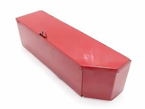 International Tractor Red Painted Tool Box