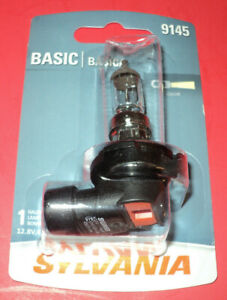 Sylvania Basic H10 9145 45w One Bulb Halogen Fog Light Replacement New Frees