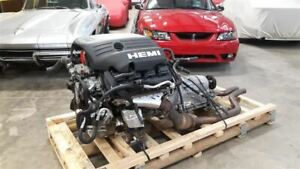 5 7 Hemi Engine Auto Transmission 5 Speed W5a580 Pullout Dodge Challenger R t