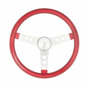 Grant Products 8445 13 5 Metal Flake Steering Wheel Red New