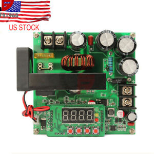 Bst900w Cnc Boost Converter 8 60v Step up 10 120v Solar Charging Cvcc Dc dc 15a