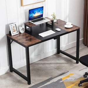 47 Computer Desk Vintage Home Office Pc Laptop Study Table Monitor Stand
