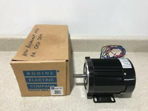 Bodine Electric Motor 48r5bfyp 1 3hp 1800rpm 3ph New