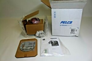Pelco Is21 dwsv8s Color Cctv Camera Indoor Surface Dws 3 8 8mm Lens Clear Dome