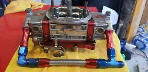 Holley Quick Fuel 950cfm Carburetor Drag Race