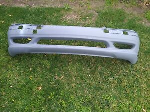 00 02 Mercedes Amg W220 S55 S500 S430 Front Bumper Cover W side Grills