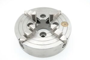 Bison 4304 6 1 4 4 Jaw Independent Chuck Missing 1 Operating Screw