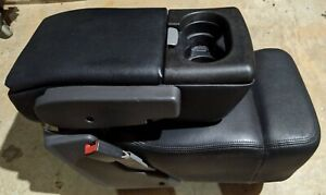2004 2005 2006 2007 2008 Ford F 150 Center Console Jump Seat Black Leather