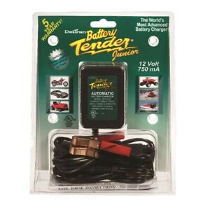 New Dbt021 0123 Deltran Battery Tender Jr 12v 0 75 Amp Charger 2 Available