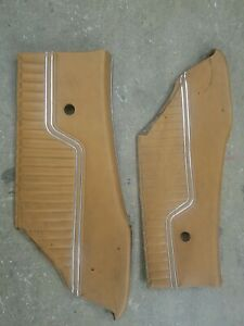 1970 72 Chevelle Rear Door Panels 1971 Gm Original Quarter Panel Interior Malibu