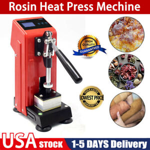 Hydraulic Rosin Extraction Portable Heat Press Machine Dual Heating Plate us