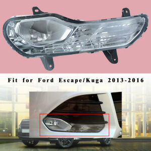 Right Front Bumper Fog Light No Bulb Parts Fit For Ford Escape Kuga 2013 2016
