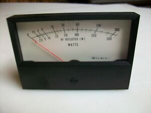 Simpson Replacement Panel Meter rf Watts Fs 1 Ma 6625 01 290 4843