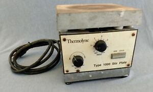 Thermolyne Spa1025b Type 1000 7 Stirring Hot Plate Tested And Working