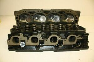 Chevy 14097088 454502 Big Block Cylinder Heads Rectangular Port 4 Roller Cam Bbc