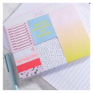 Nip Asos Ban do Bando Sticky Note Set Straight Up Magic 8 Pads W 100 Notes Each