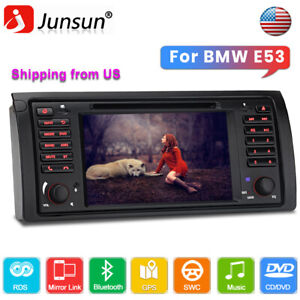 For Bmw X5 E53 7 Car Stereo Cd Dvd Player Gps Navigation Radio Bluetooth Dab