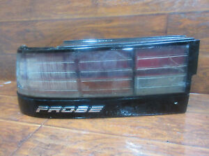 Ford Probe Gt 1989 1990 1991 1992 Left Driver Tail Light