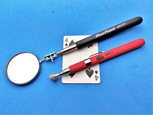 New Blue Point Mac Telescoping Magnet Magnetic Pickup Tool Mirror by Snap On