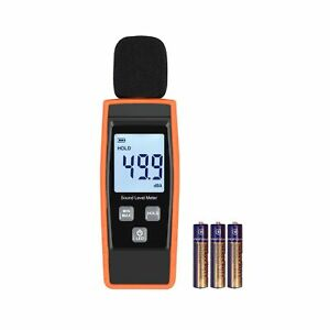 Linkfor Decibel Meter Digital Sound Level Tester Noise 5 6 Ounces Residential