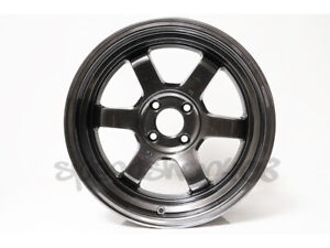 Rota Grid V Wheels Hyper Black 16x8 20 4x100 67 Hub Civic Eg Integra Dc Miata