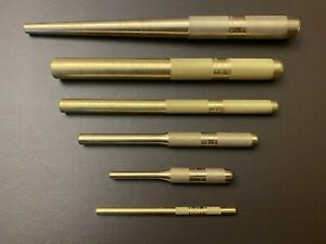 Snap On Tools 6 Piece Brass Punch Set Usa New
