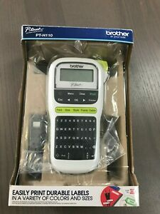 Brother P touch Pt h110 Easy Portable Label Maker Lightweight Qwerty Keyboard