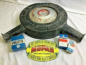 1967 Plymouth Gtx Dodge Coronet Rt 440 Air Cleaner Breather 4 Barrel Carter Afb
