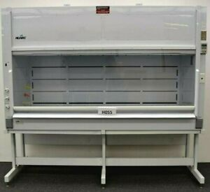 8 Ft Laboratory Bench Fume Hood W Service Valves Refurbished E1 459