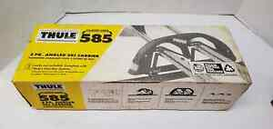 Thule 585 Angled Ski Carrier Clamp ons 2pairs Skiing Travel Clamp Ons New In Box