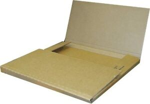 50 Economy Variable Depth Kraft Lp Record Album Mailer Boxes New Item
