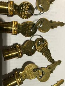 American Padlock Cylinders For H 10 Padlock 6 Cylinders With Same Keys
