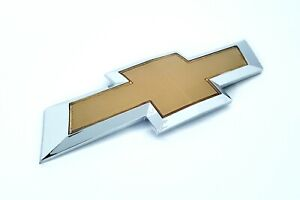 Chevy Cruze 2011 2014 Gold Front Grille Bowtie Emblem Us Shipping