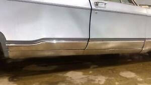 1968 Chrysler New Yorker Right Pass Chrome Lower Rocker Molding No Door Trim
