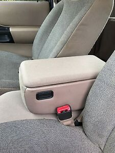 New Tan Ford Ranger Center Console Lid Cover Arm Rest 1998 To 2003