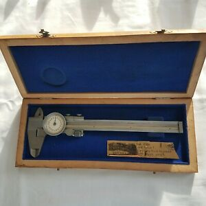 Helios Antique Dial Calipers 0 6 Made In West Germany