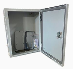 Electrical Steel Powder Coated Enclosure Includes The Sub Panel Ul Approved