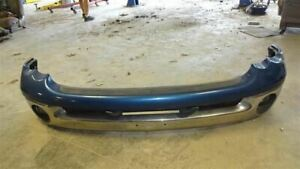 Front Bumper Assembly Chrome Bar Fits 02 05 Dodge 1500 Pickup 668974